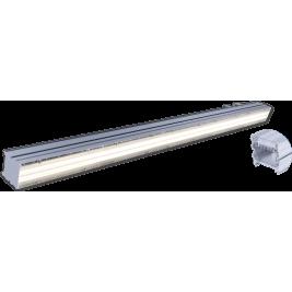 Linijinis šviestuvas su optika