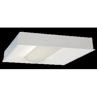 LED Troffer 1 (panelė gaubtu difuzoriumi)