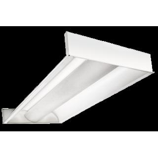LED Panelė gaubtu difuzoriumi 145lm/w (TROFFER)