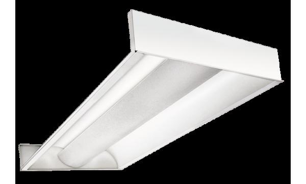 LED Troffer 2 (panelė gaubtu difuzoriumi)